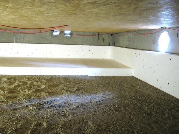 tilläggsisolera golv med frigolit